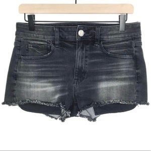 American Eagle Distressed Denim Shorts Size 8 AEO